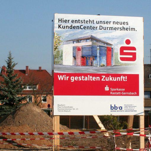 Baustellenbeschreibung Sparkasse