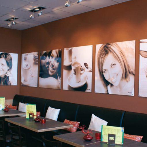Innenraumgestaltung Café