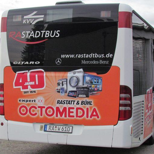 Fahrzeugbeschriftung | Bus Octomedia