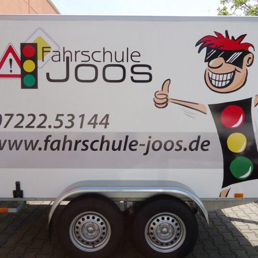 Fahrzeugbeschriftung | Fahrschule Joos