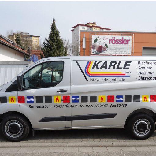 Fahrzeugbeschriftung | Karle