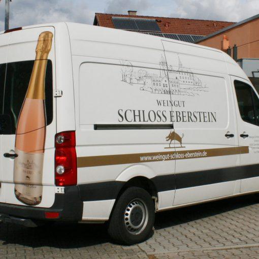 Fahrzeugbeschriftung | Schloss Eberstein