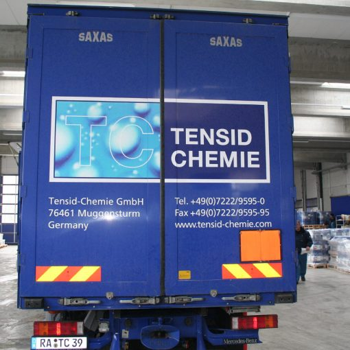 Fahrzeugbeschriftung | Tensid-Chemie
