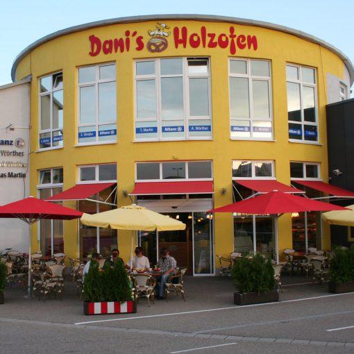 Fassadengestaltung Dany's Holzofen