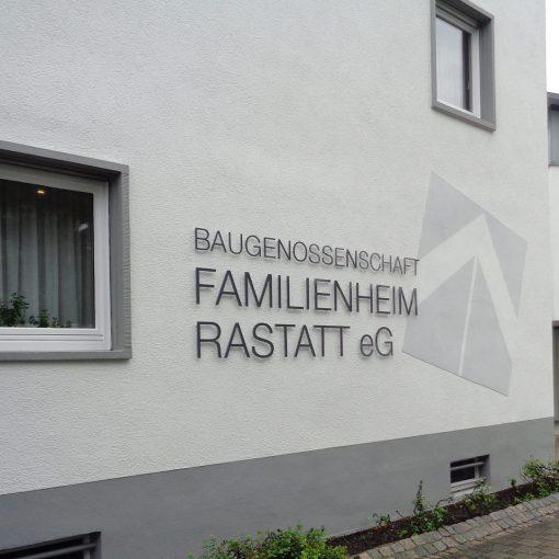 Fassadengestaltung Familienheim