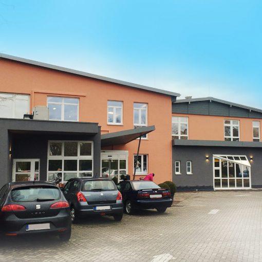 Fassadengestaltung Fitnesscenter Rastatt