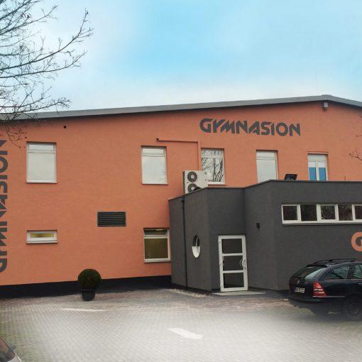 Fassadengestaltung Fitnesscenter