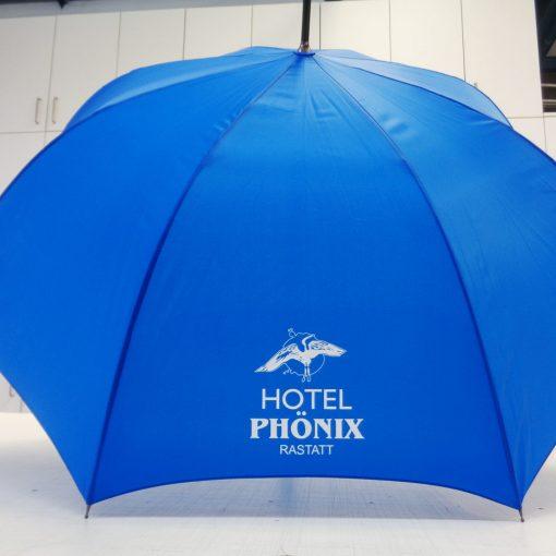 Bedruckter Schirm