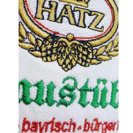 Stickerei Brauerei Hatz