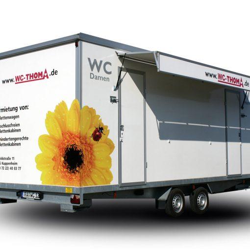 Fahrzeugbeschriftung | WC-Thoma