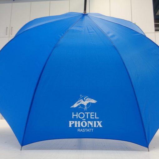 Werbemittel Schirm