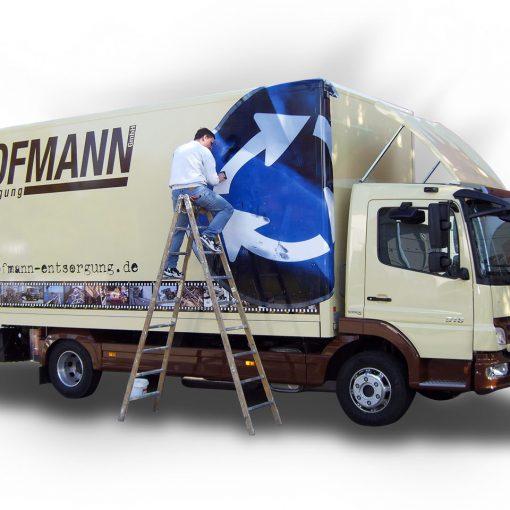 Fahrzeugbeschriftung | Hofmann-Entsorgung