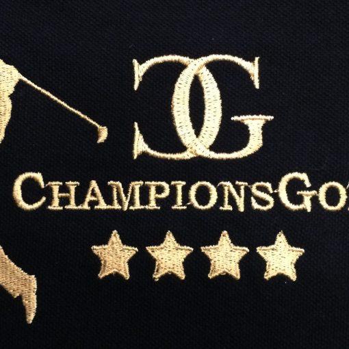 T-Shirt Stickerei